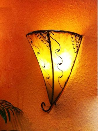 Moroccan Wall Lamp Farhad Nature – image 3