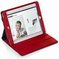 iPad 2 Klapp-Schutzhülle Troika RED PEPPER