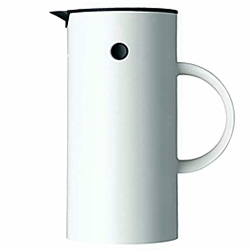 stelton EM77 Isolierkanne Thermoskanne 0,5 l white