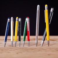 Multitasking Kugelschreiber viele Funktionen verschiedene Farben Troika CONSTRUCTION