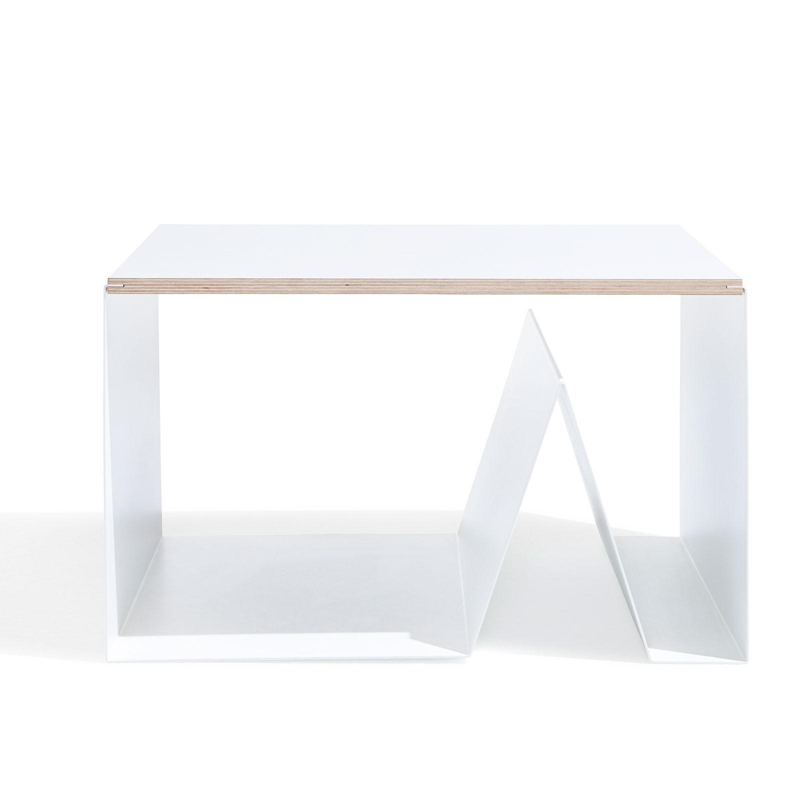 beistelltisch holz metall weiss emform pulse. Black Bedroom Furniture Sets. Home Design Ideas