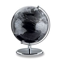 emform Tischglobus Globus PLANET 25 x 30 cm DARKCHROME PLANET