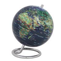 emform Mini Globus mit Metallfuß Ø 13,5 cm GALILEI PHYSICAL NO 2