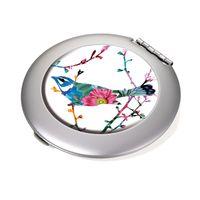 TROIKA Taschenspiegel + Vergrößerungsspiegel BIRDIE