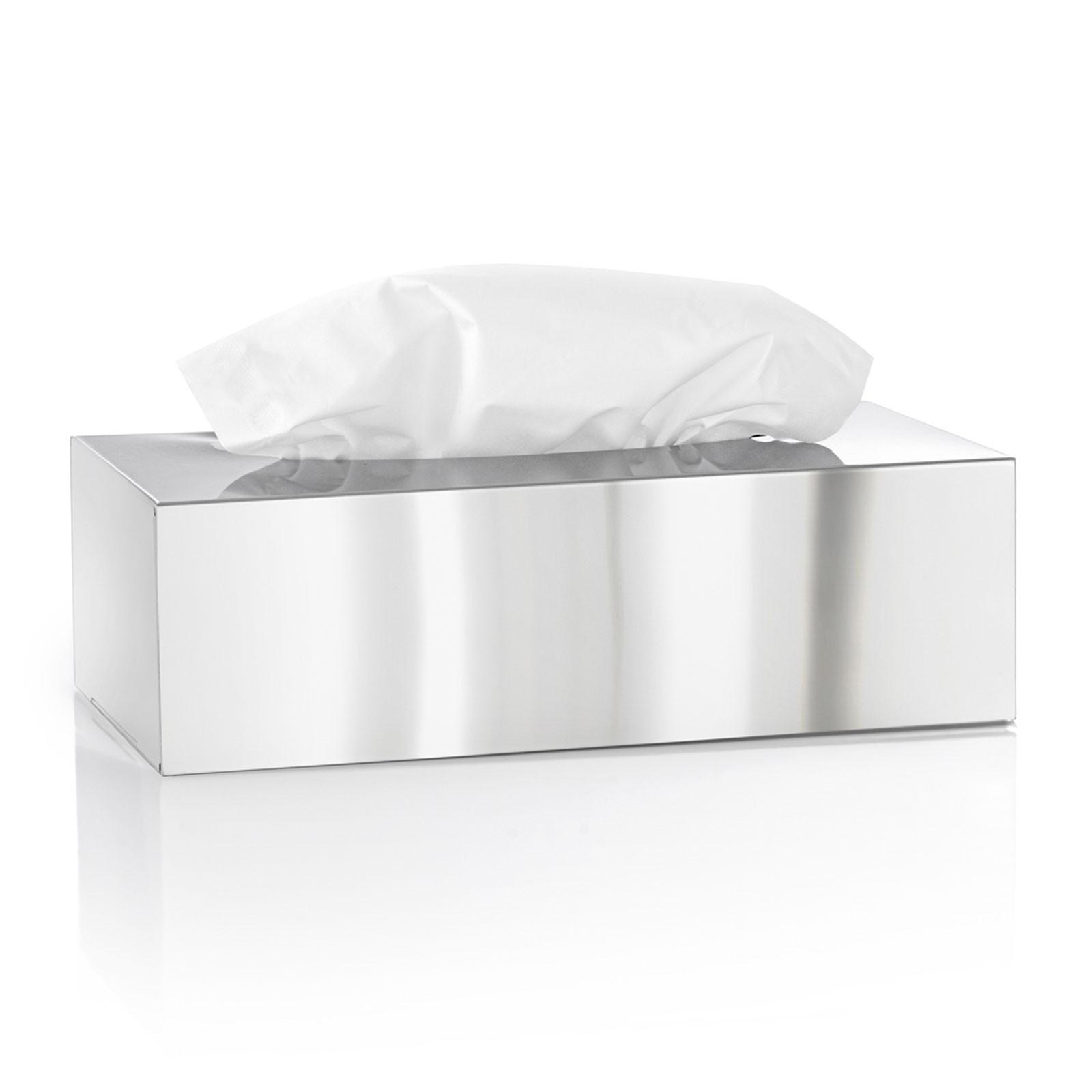 Kosmetiktuchbox Edelstahl poliert blomus NEXIO