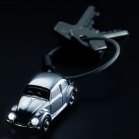 TROIKA Schlüsselanhänger LIGHT BEETLE Beetle 1964 mit LED