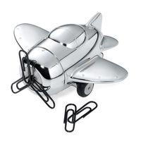 Retro Flugzeug Briefbeschwerer Büroklammernmagnet Troika PROPELLER