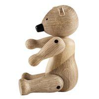 Holzfigur beweglicher Bär 15 cm Kay Bojesen BÄR