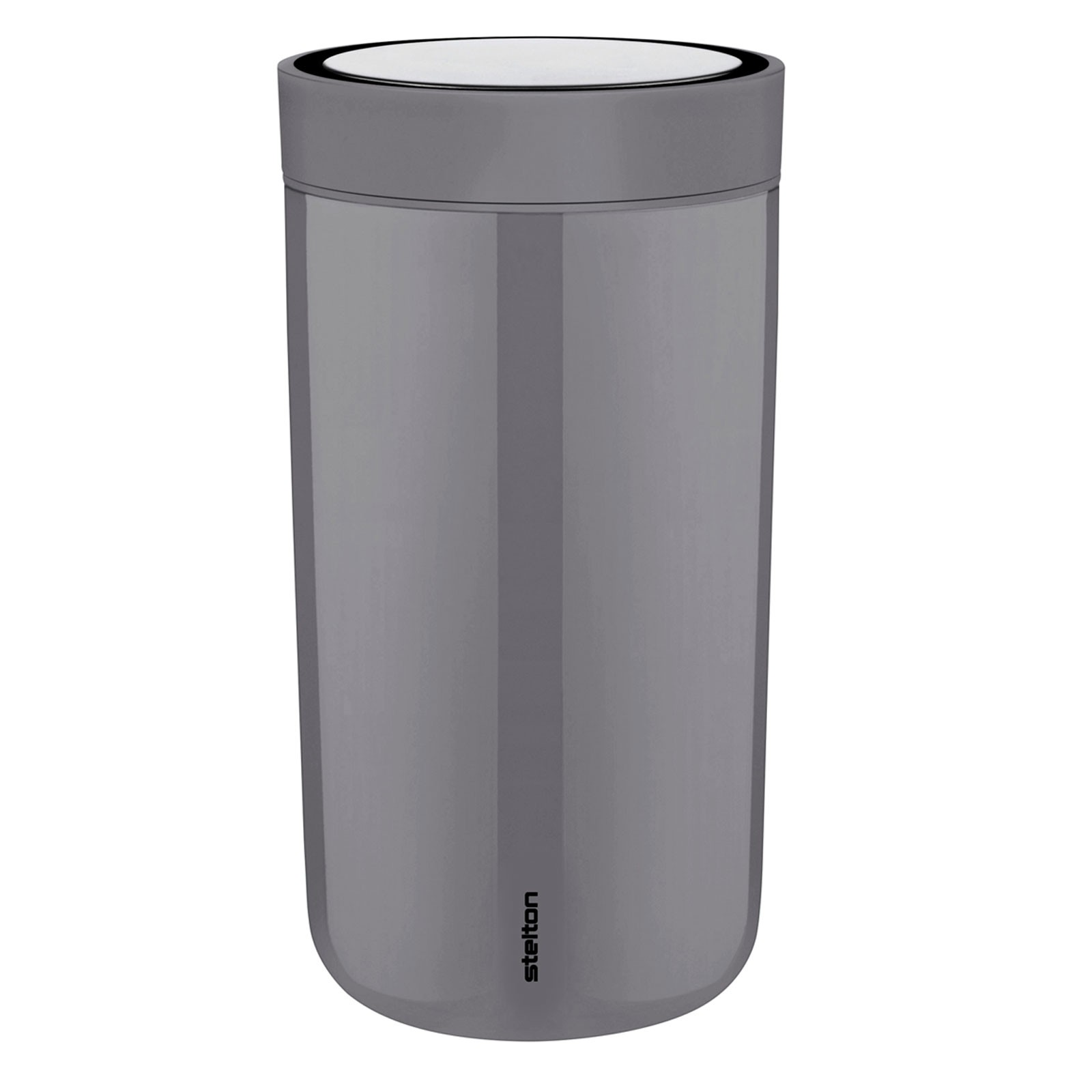 Thermobecher 0,20 l Steel Granit Grau stelton TO GO CLICK