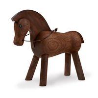Kay Bojesen Holzfigur Pferd Walnussholz 14 cm