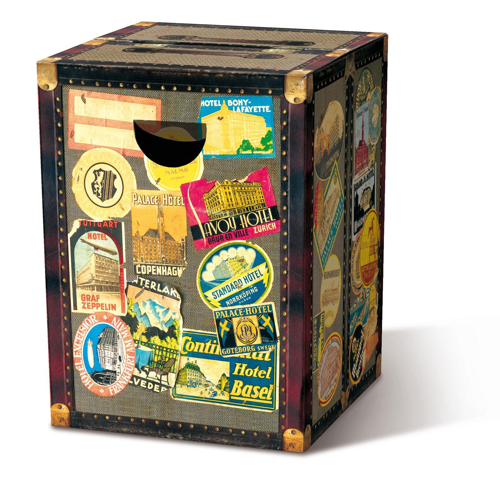 remember papphocker belastbar bis 200 kg globetrotter. Black Bedroom Furniture Sets. Home Design Ideas