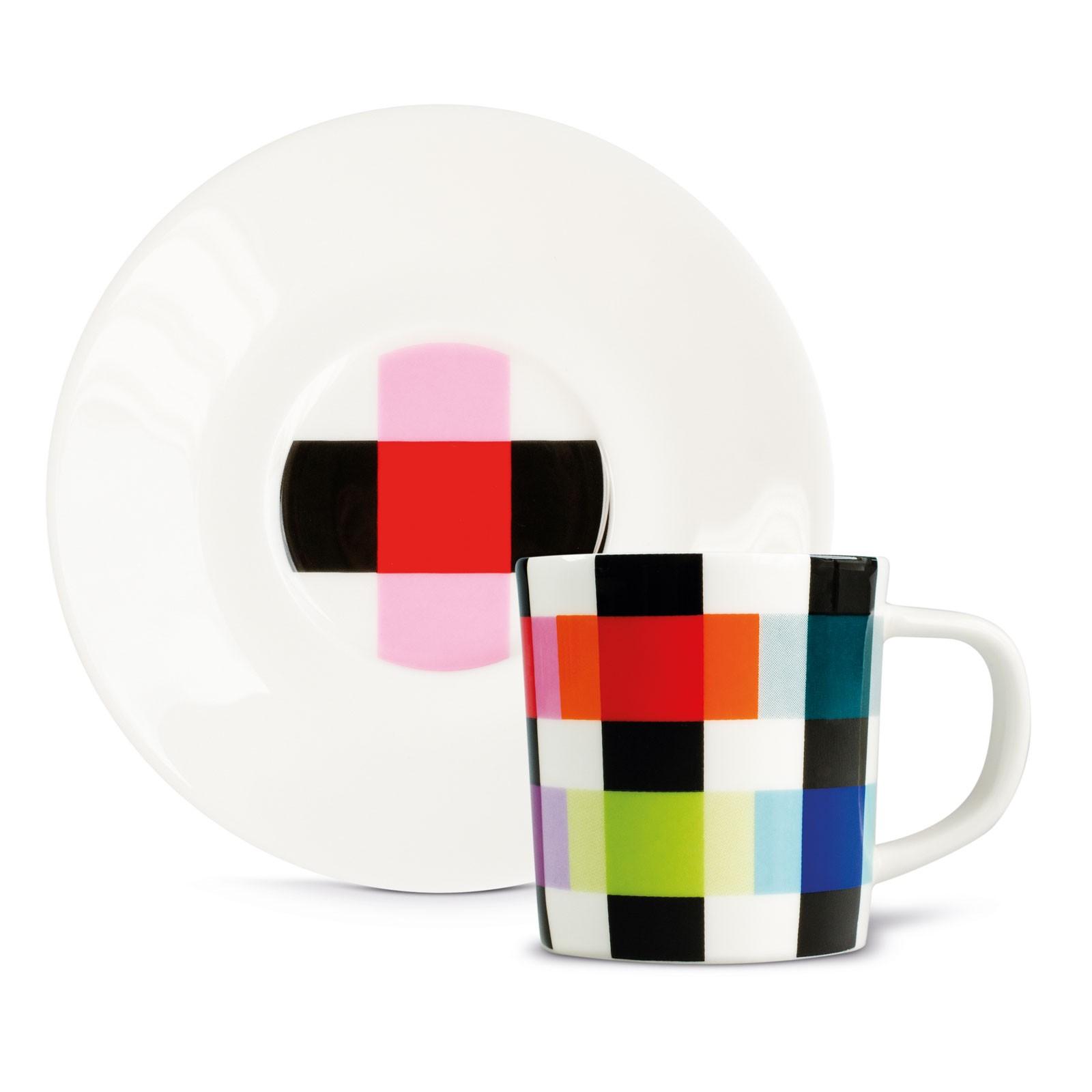 Remember Espressotasse + Untertasse in Geschenkverpackung COLOUR CARO