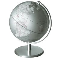emform Tischglobus Globus PLANET 25 x 30 cm SILVERPLANET