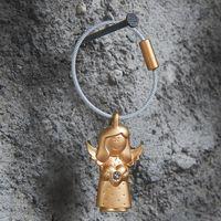 Schlüsselanhänger Engel matt gold Troika VALERIE