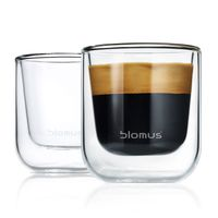 blomus Nero Thermo Espressoglas 2-teiliges Set