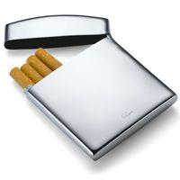 Philippi Cushion Zigarettenetui Edelstahl hochglanzpoliert