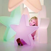 Lumenio LED Weihnachtsstern Designleuchte verschiedene Größen mit Fernbedienung