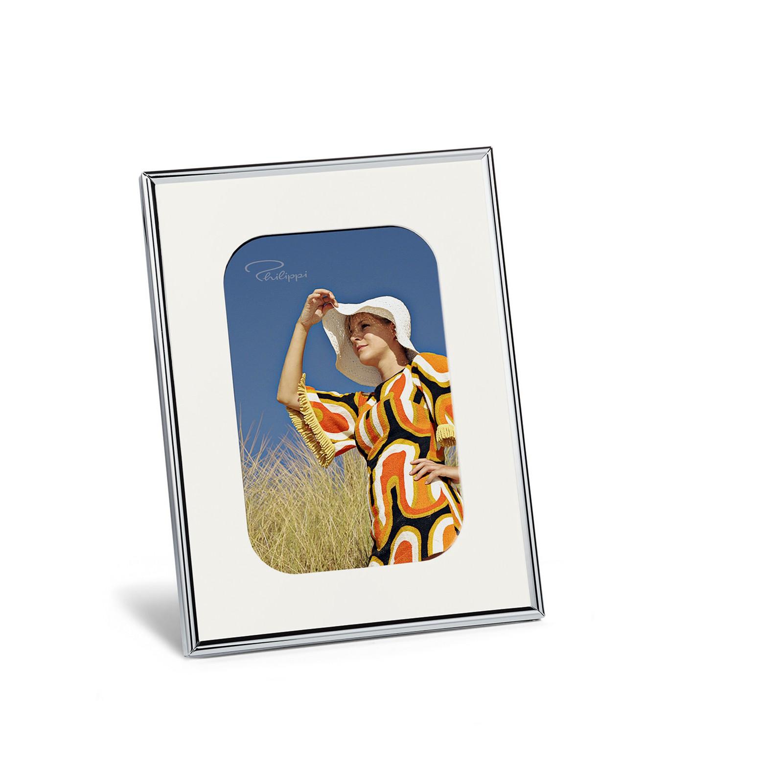 Philippi Chic Bilderrahmen Stahl verchromt 10 x 15 cm