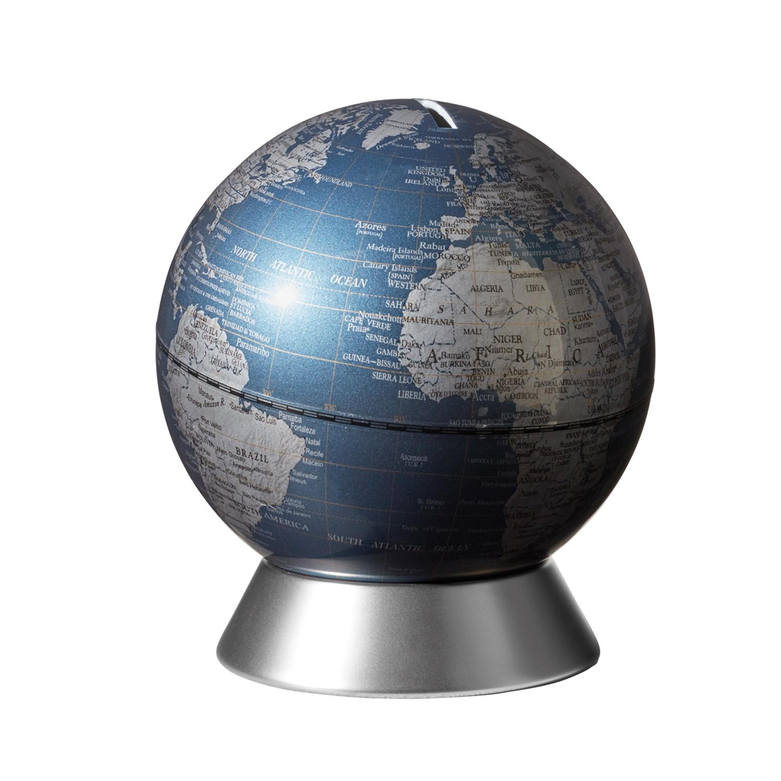 Emform Globus Spardose O 14 Cm Orion Blue