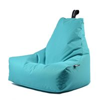 b-bag Extreme Lounging Sitzsack Indoor + Outdoor mighty-b Farbe Aqua