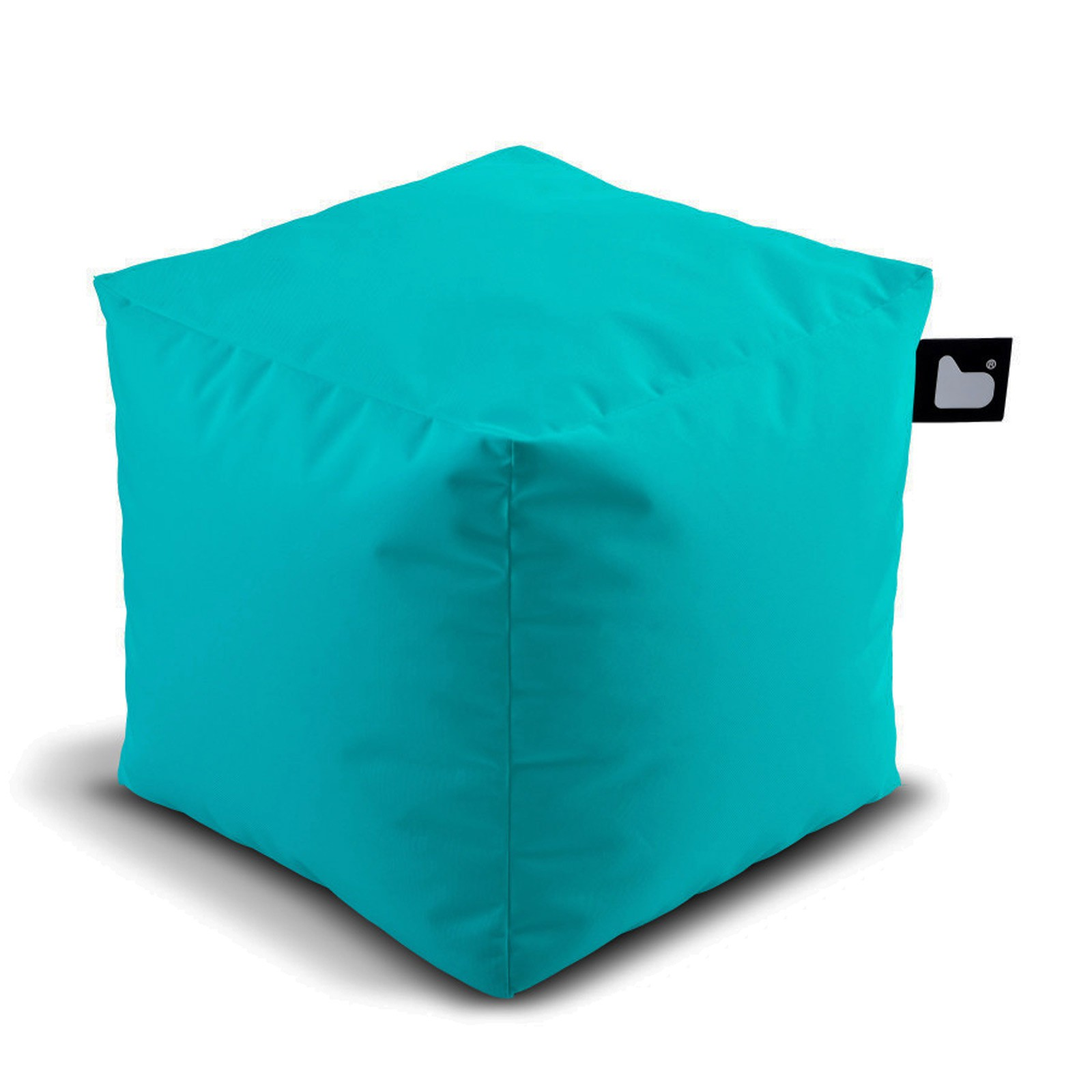 b-bag Extreme Lounging Sitzwürfel/Fußhocker Indoor-/Outdoor b-box Farbe Aqua