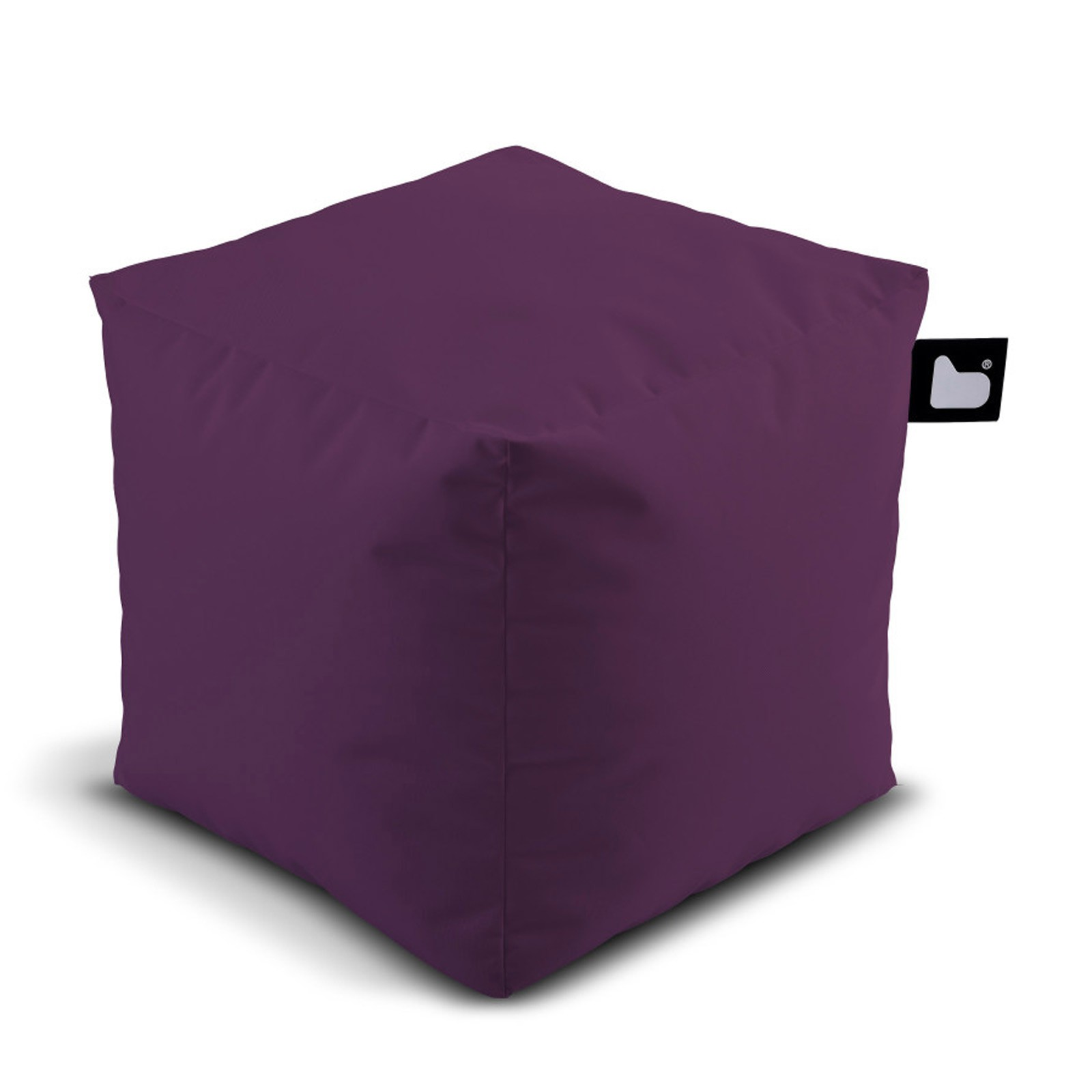 b-bag Extreme Lounging Sitzwürfel/Fußhocker Indoor-/Outdoor b-box Farbe Berry