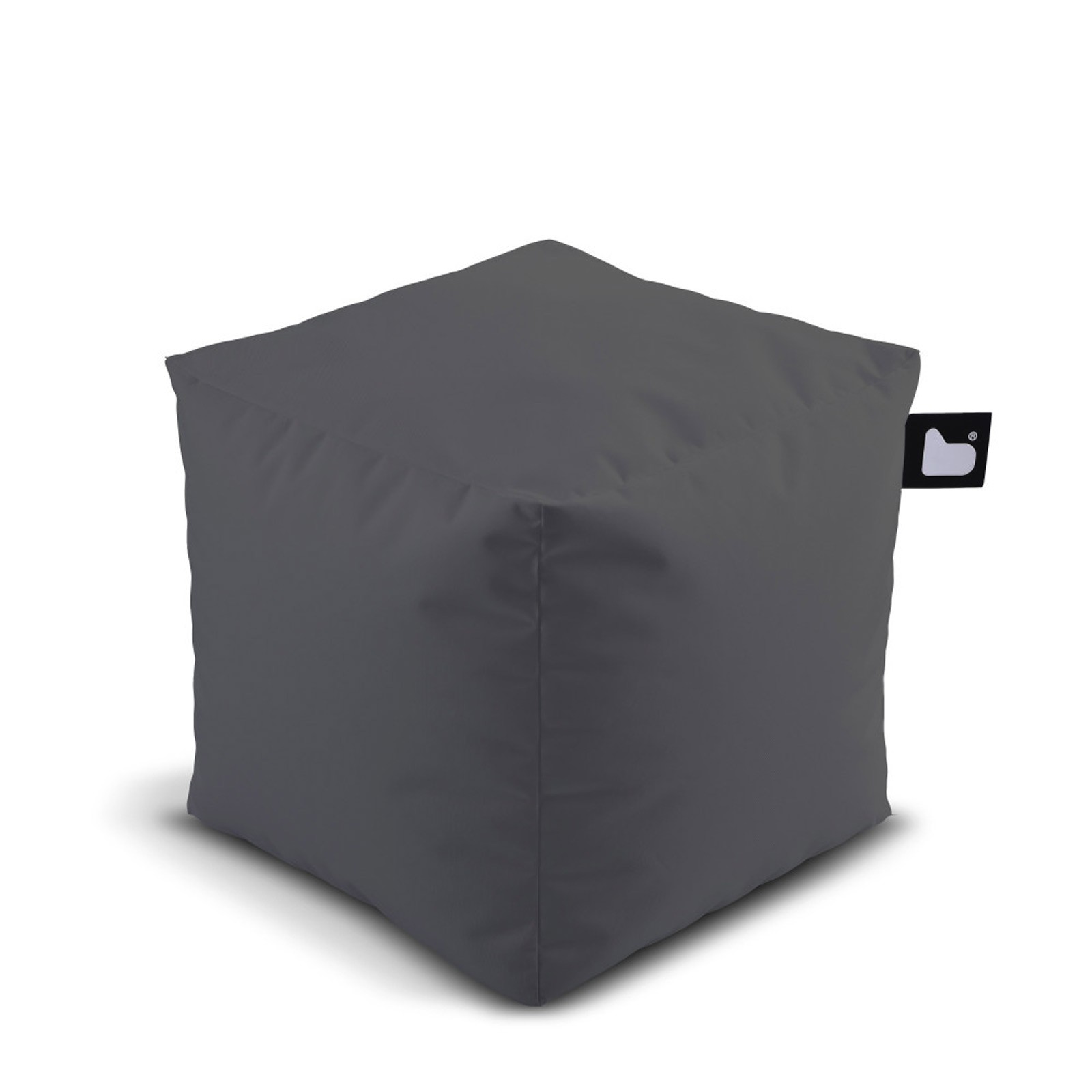 b-bag Extreme Lounging Sitzwürfel/Fußhocker Indoor-/Outdoor b-box Farbe Grey
