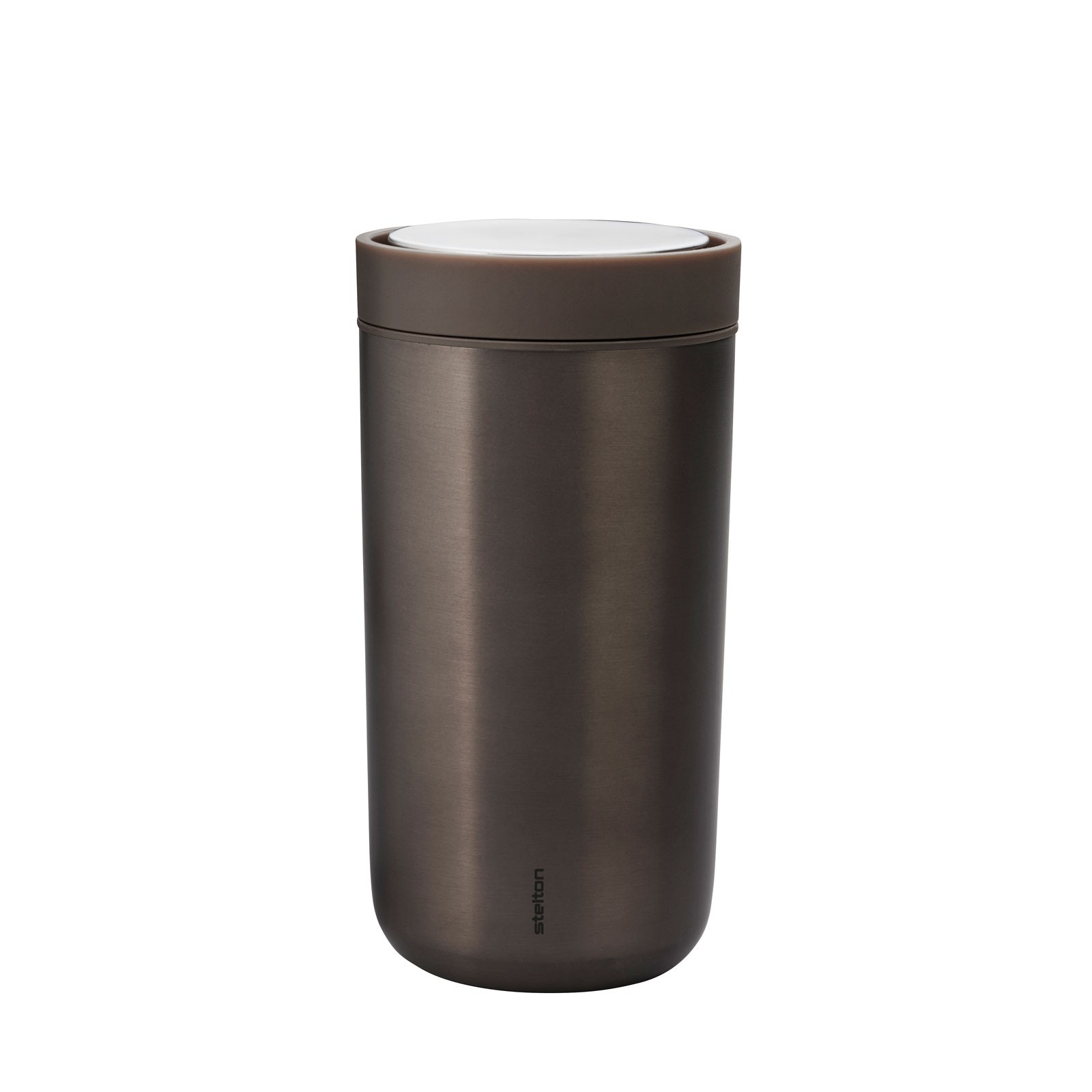 stelton To Go Click Metallic Dark Brown Thermobecher 0,20 l - Limited Edition