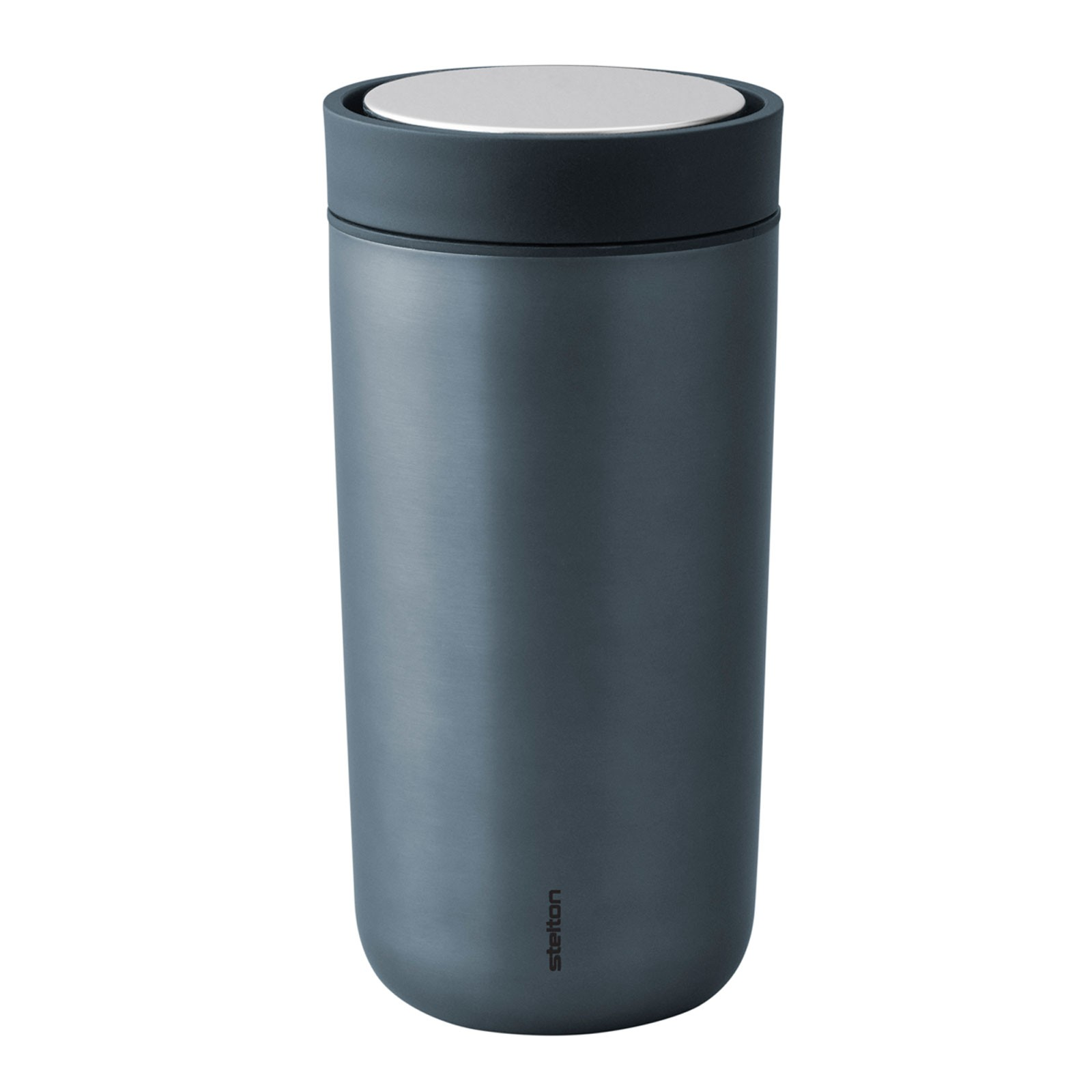stelton To Go Click Metallic Dark Blue Thermobecher 0,34 l - Limited Edition