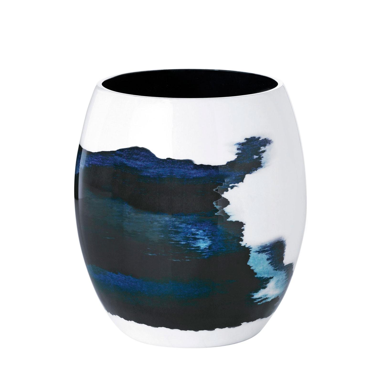 stelton Stockholm Vase klein Ø 13,1 cm AQUATIC