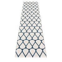 pappelina OTIS Kunststoffläufer Vanilla/Ocean Blue 70 x 320 cm