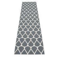 pappelina OTIS Kunststoffläufer Granit/Fossil Grey 70 x 320 cm