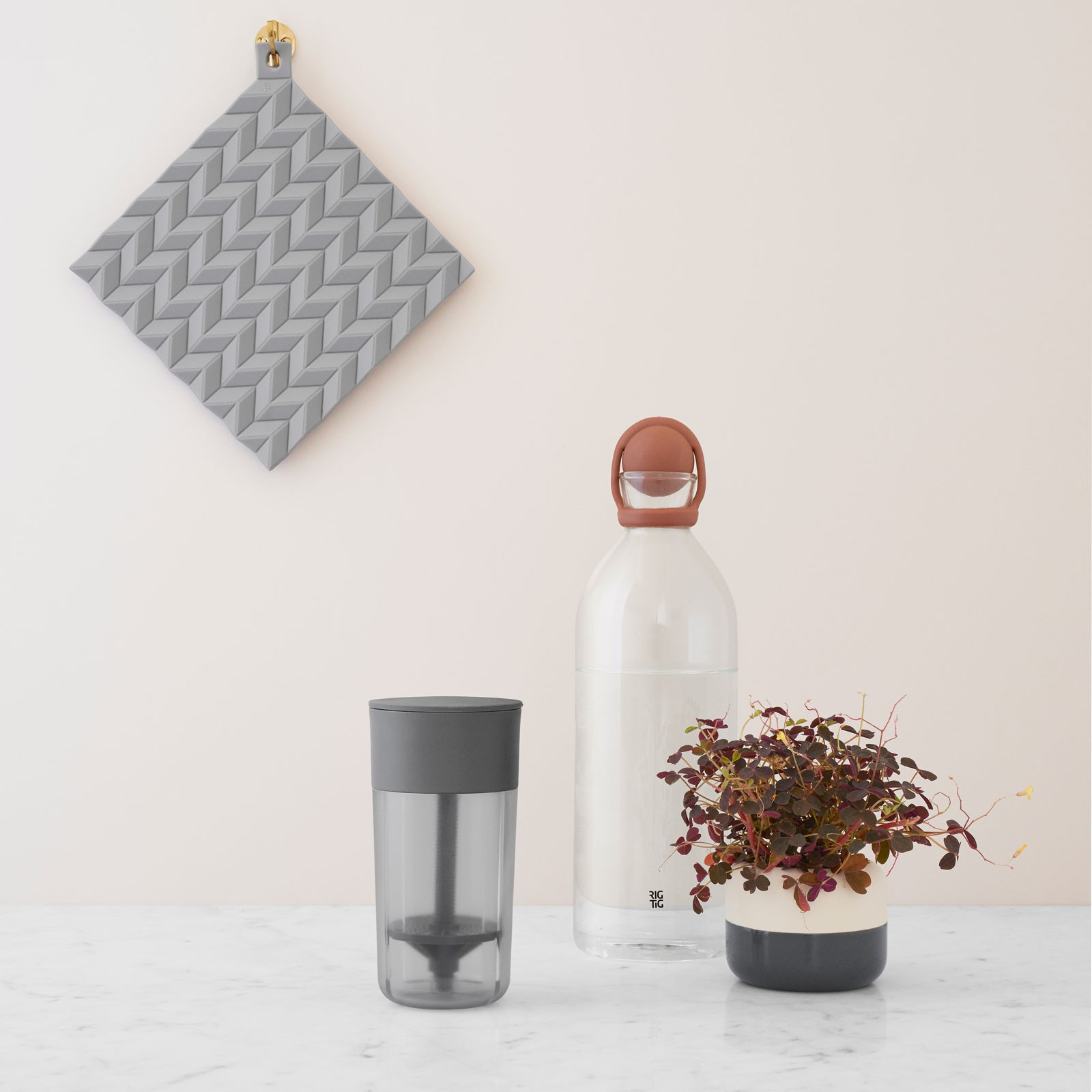 Rig Tig By Stelton Topflappen Hold On 2 Stück Dusty Green