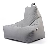 b-bag Extreme Lounging Sitzsack Outdoor mighty-b Farbe Pastell Grey
