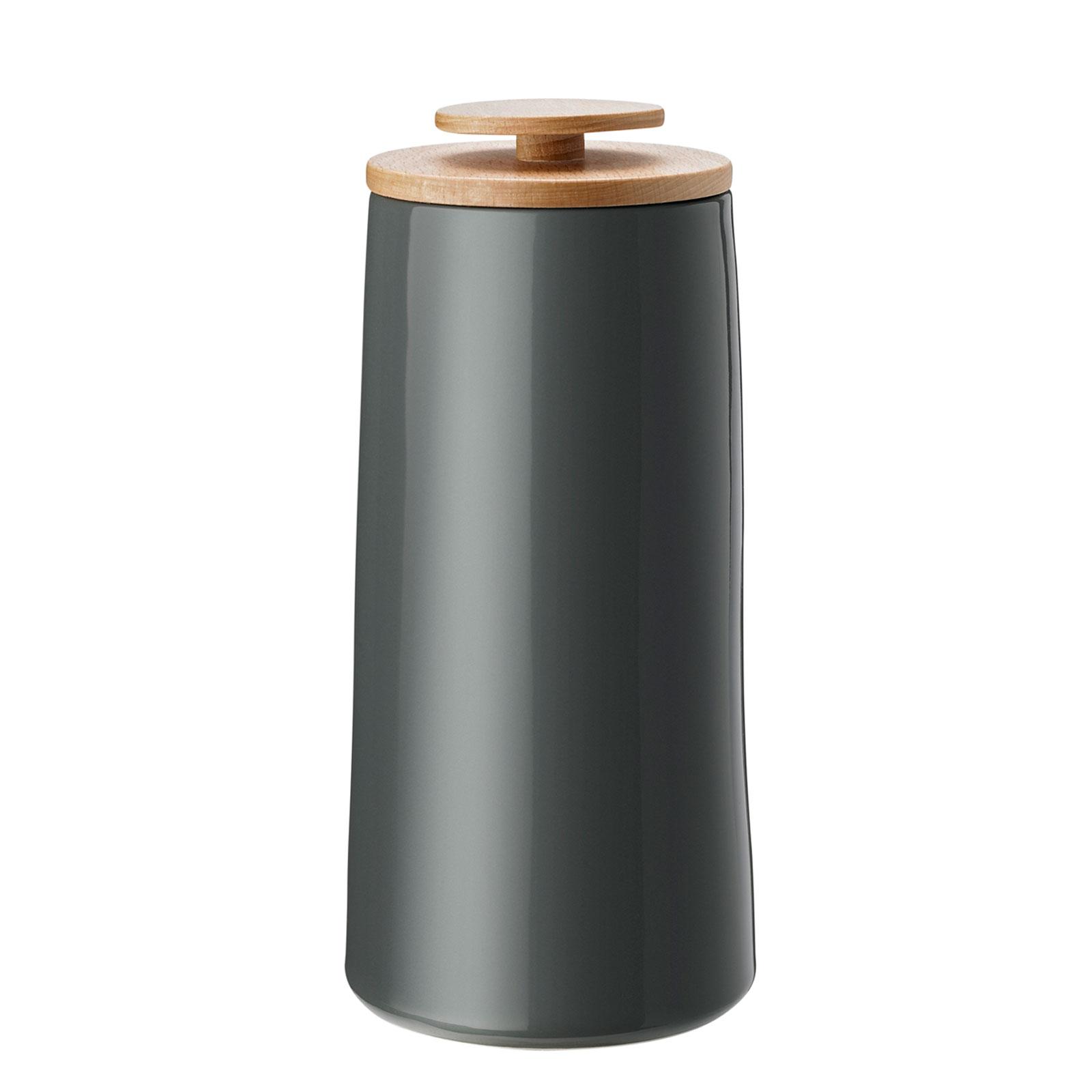 stelton Emma Kaffeedose Aufbewahrungsdose 500 g grau
