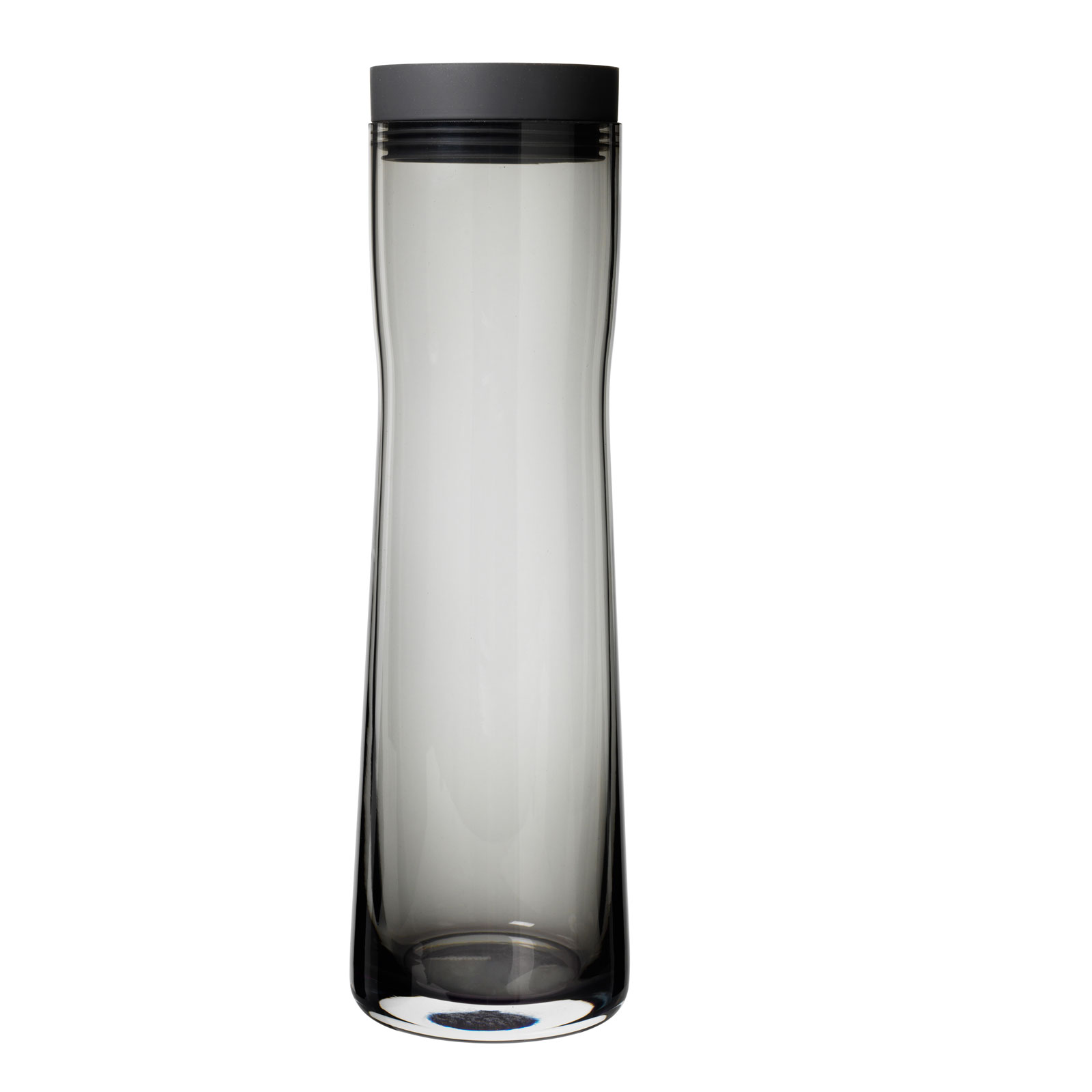 blomus Glas Wasserkaraffe grau SPLASH Vol. 1 Liter