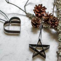 stelton Weihnachtsschmuck Ornament FIGURA Heart S in verschiedenen Ausführungen