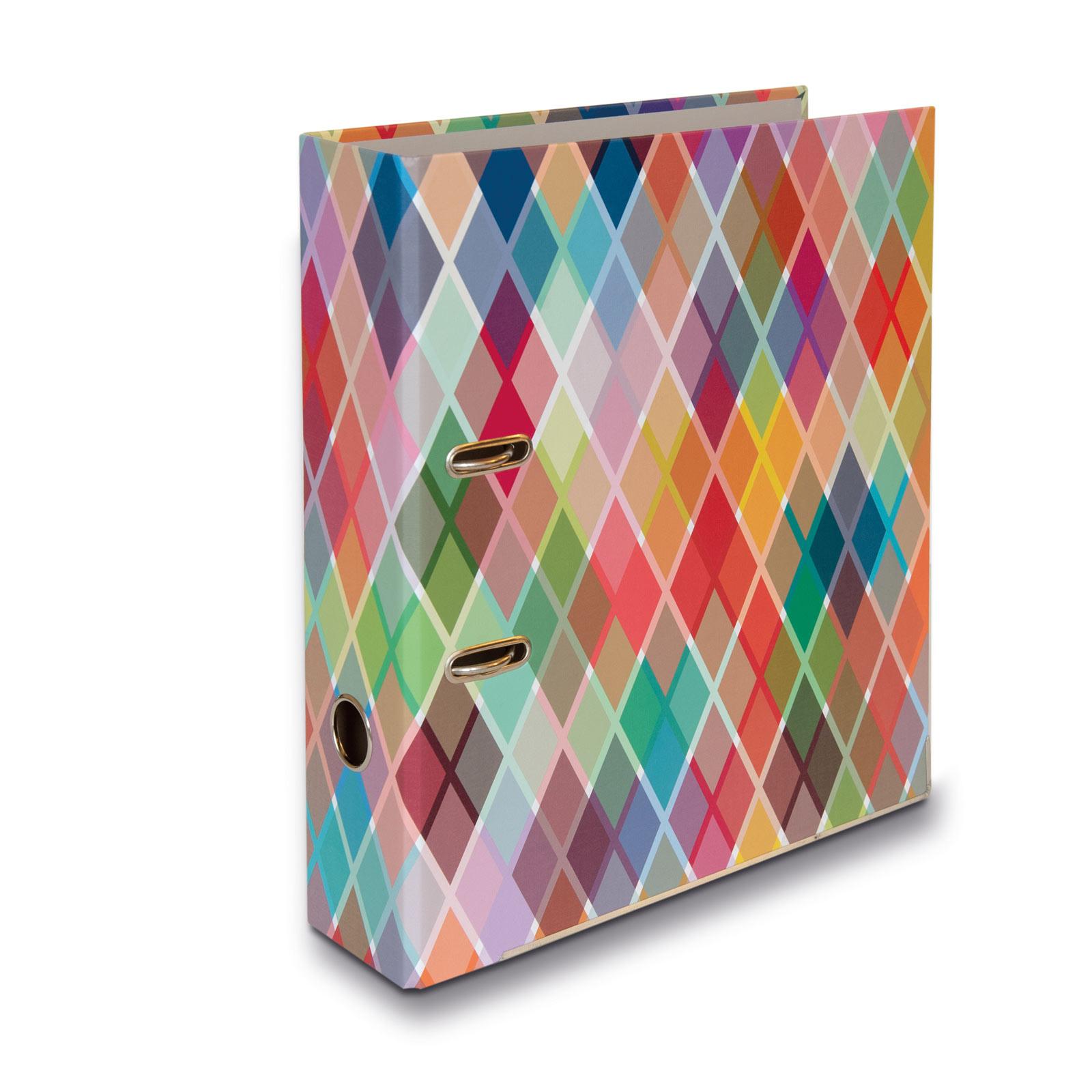 Remember farbenfroher DIN A4 Ordner 28,5 x 8 x 32 cm Motiv ETIENNE