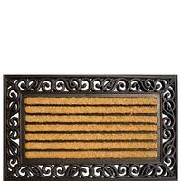 AKZENTE Coco Rubber Fußmatte Kokosfaser CLASSIC RECHTECKIG 45 x 75 cm