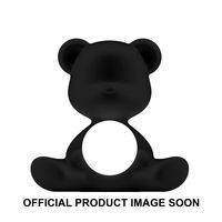 Qeeboo Tischleuchte Teddy Girl LED outdoor lamp BLACK