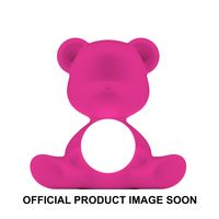 Qeeboo Tischleuchte Teddy Girl LED outdoor lamp FUXIA