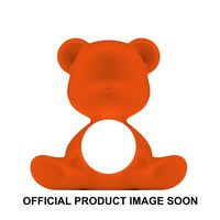 Qeeboo Tischleuchte Teddy Girl LED outdoor lamp ORANGE