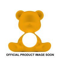 Qeeboo Tischleuchte Teddy Girl LED outdoor lamp YELLOW