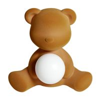 Qeeboo Tischleuchte Samt Teddy Girl LED lamp ARENA