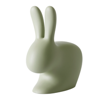 Qeeboo RABBIT CHAIR Hasenstuhl GREEN