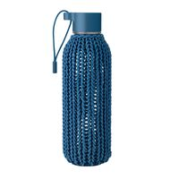 RIG TIG by stelton CATCH-IT drinking bottle 0,6 l blue