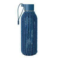 RIG TIG by stelton CATCH-IT drinking bottle 0,6 l blue