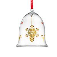 Holmegaard Weihnachtsanhänger Glas Weihnachtsglocke groß 2019