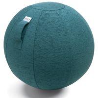 VLUV STOV Sitzball mit Polyester Bezug Petrol in 3 Größen