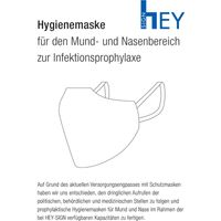 Hey Sign Hygienemaske für den Mund- und Nasenbereich